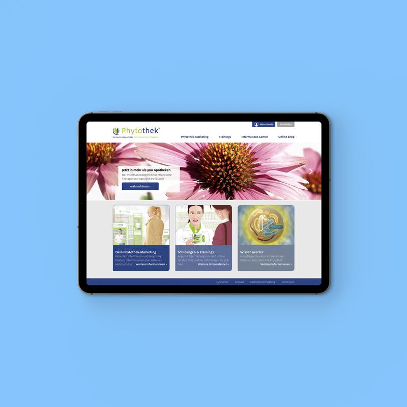 Relaunch Phytothek.de